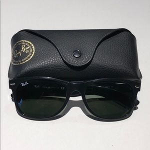 Ray-Ban new wayfarer sunglasses black unisex